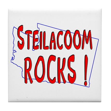 Steilacoom Rocks ! Tile Coaster