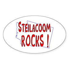 Steilacoom Rocks ! Oval Decal