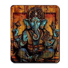 Blue Ganesha Mousepad
