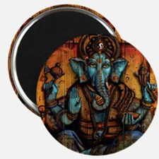 Blue Ganesha Magnet