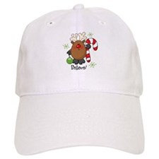 Believe Reindeer Baseball Cap