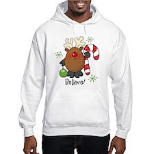 Believe Reindeer Hoodie