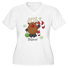 Believe Reindeer T-Shirt