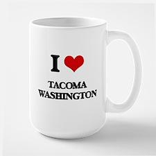 I love Tacoma Washington Mugs