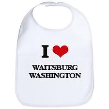 I love Waitsburg Washington Bib