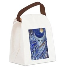 Cats Dreamland Canvas Lunch Bag