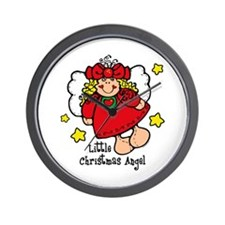 Little Christmas Angel Wall Clock