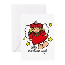 Little Christmas Angel Greeting Cards (Pk of 20)