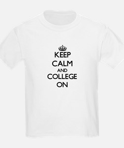 Keep Calm and College O Women's Cap Sleeve T-Shirt