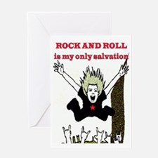 MY ONLY SALVATION Greeting Card