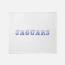 Jaguars-Max blue 400 Throw Blanket