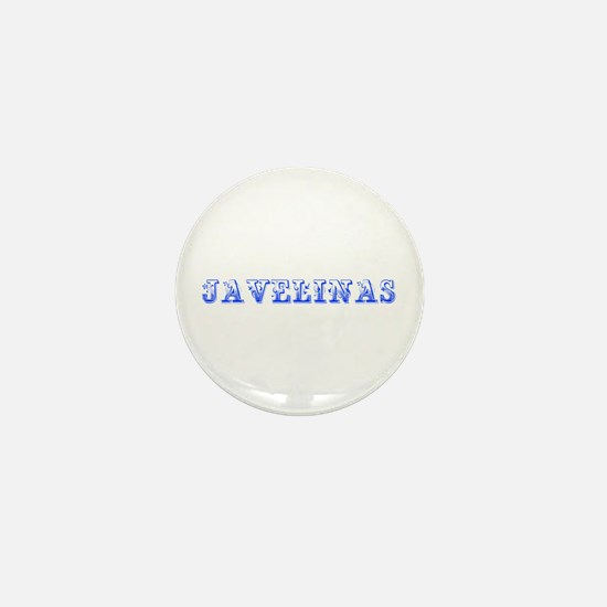 Javelinas-Max blue 400 Mini Button