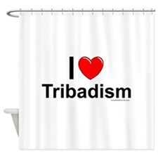 Tribadism Shower Curtain