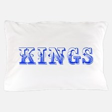 kings-Max blue 400 Pillow Case