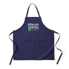 Pog Mo Thoin - I Am Irish Apron (dark)