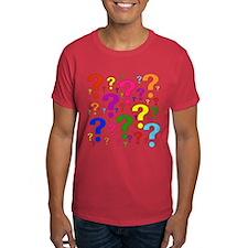 Rainbow Question Marks T-Shirt