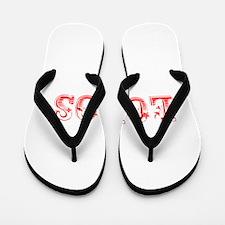 Lobos-Max red 400 Flip Flops