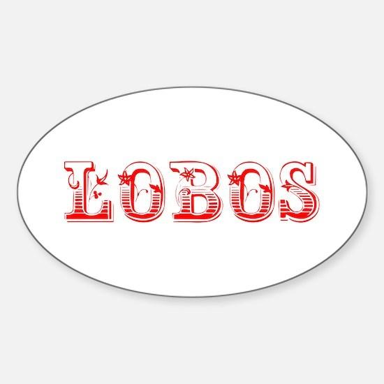Lobos-Max red 400 Decal