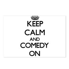 Keep Calm and Comedy ON Postcards (Package of 8)