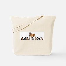 CANE CORSO & PUPPIES Tote Bag