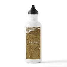 Samara Beach Love Water Bottle