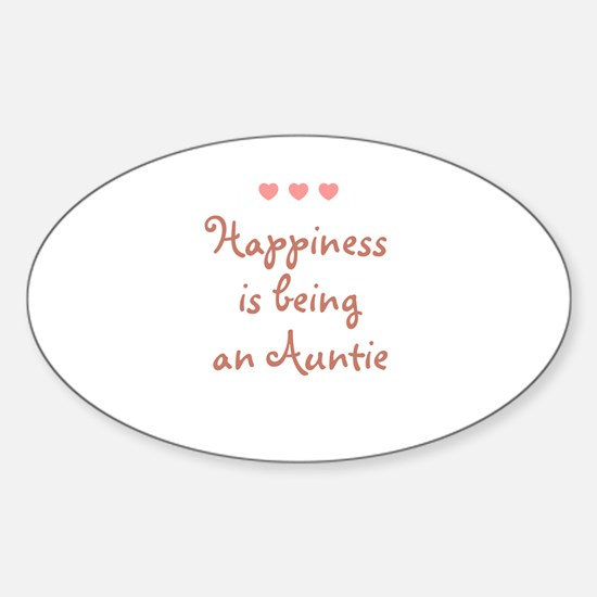 Cute Aunite Sticker (Oval)