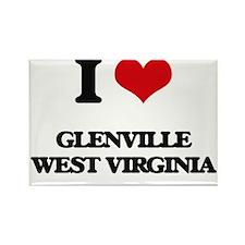 I love Glenville West Virginia Magnets