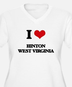 I love Hinton West Virginia Plus Size T-Shirt