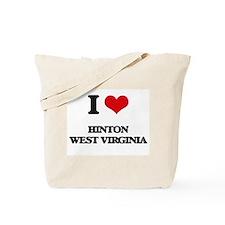 I love Hinton West Virginia Tote Bag