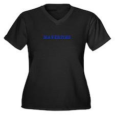 Mavericks-Max blue 400 Plus Size T-Shirt