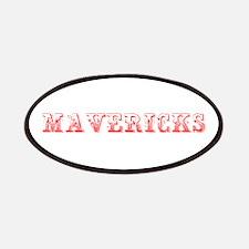 Mavericks-Max red 400 Patch