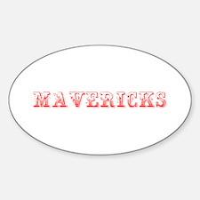 Mavericks-Max red 400 Decal