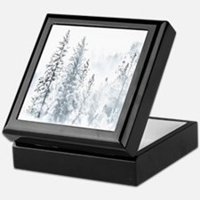 Winter Trees Keepsake Box