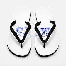 mets-Max blue 400 Flip Flops