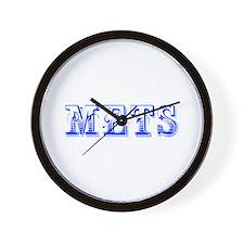 mets-Max blue 400 Wall Clock