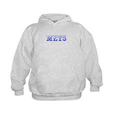 mets-Max blue 400 Hoodie