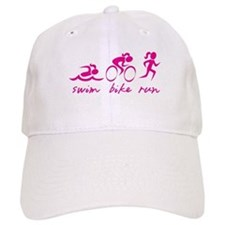 Swim Bike Run (Girl) Hat