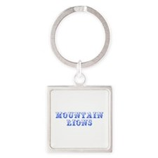 mountain lions-Max blue 400 Keychains