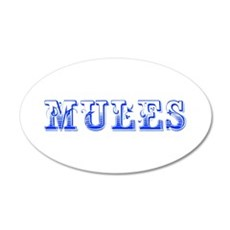 Mules-Max blue 400 Wall Decal