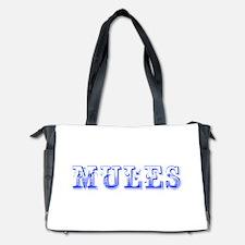 Mules-Max blue 400 Diaper Bag
