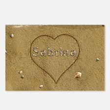Sabrina Beach Love Postcards (Package of 8)