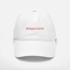 musketeers-Max red 400 Baseball Baseball Baseball Cap