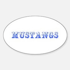 Mustangs-Max blue 400 Decal