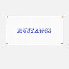 Mustangs-Max blue 400 Banner