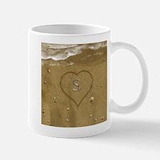 S Beach Love Mug