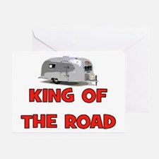 KING OF THE ROAD Greeting Card