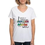 Cheerleaders are Athletes Women's V-Neck T-Shirt