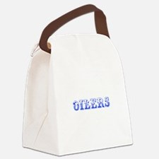 Oilers-Max blue 400 Canvas Lunch Bag