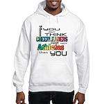 Cheerleaders are Athletes Hooded Sweatshirt