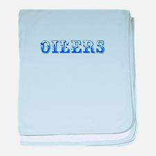 Oilers-Max blue 400 baby blanket